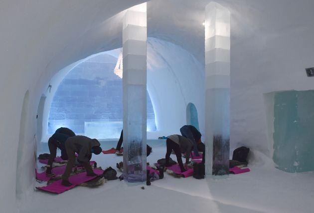 yoga-ijshotel-zweden