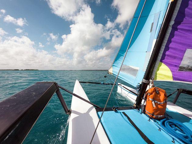 Zeilen Catamaran Bacalar (1)