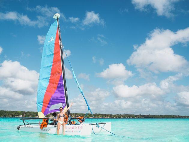 Zeilen Catamaran Bacalar (6)