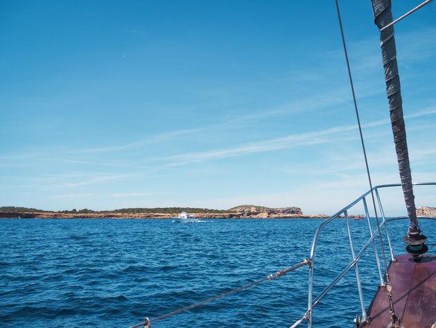 Zeilen westkust Ibiza Once Upon a Boat