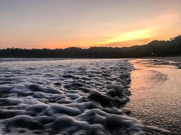 Zonsondergang-Batemans-Bay