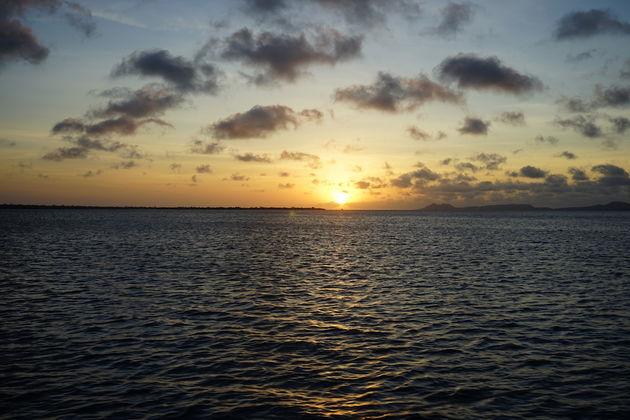 Zonsondergang-bonaire