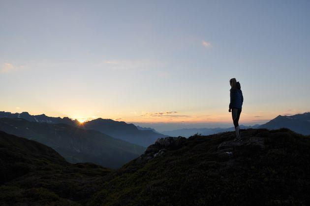 zonsondergang-montafon