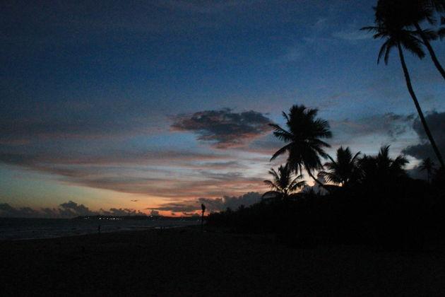 zonsondergang-Tangalle