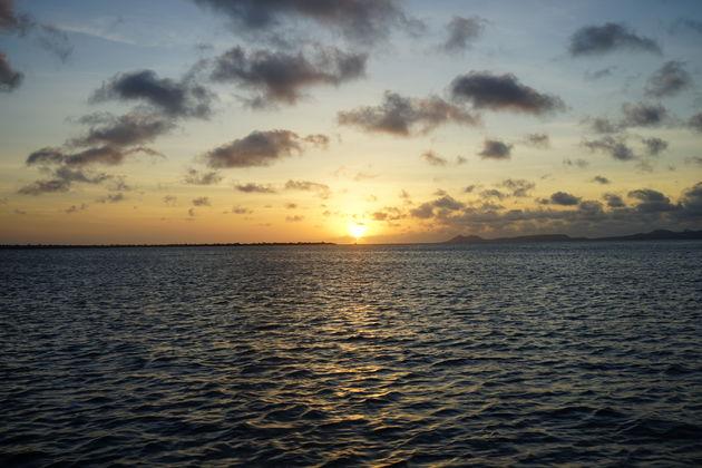 Zonsondergang_zeilen_Bonaire
