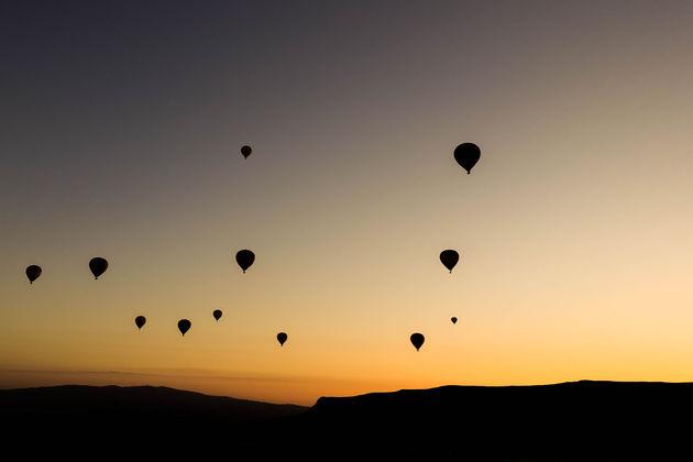 zonsopkomst-cappadocië