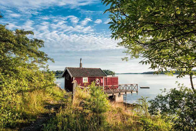 zweden-huisje-natuur