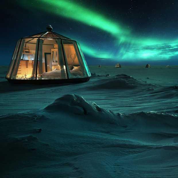 Nieuw in 2020: het meest noordelijke hotel ter wereld