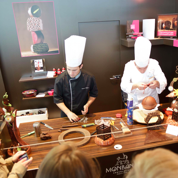 Hét evenement voor chocoladeliefhebbers: Salon du Chocolat in Brussel