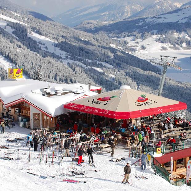 Wintersport in de Zillertal Arena