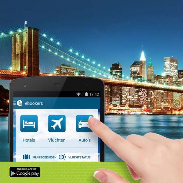 Ebookers ziet mobiele boekingen met  200 procent stijgen