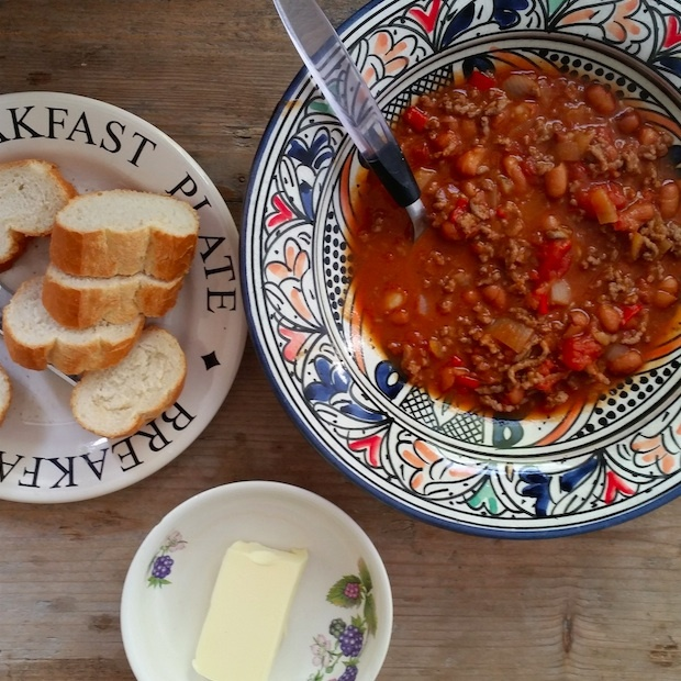 Travel cooking: Mexicaanse Chili con Carne