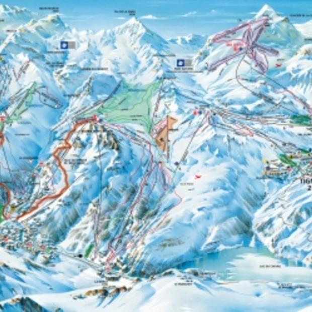 Skistation Tignes weer voor maanden geopend