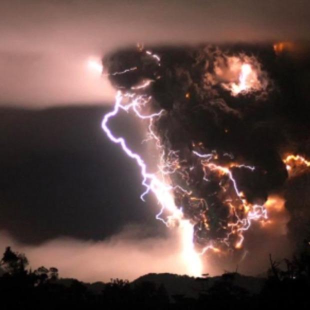De Natuur schitterend maar ook destructief!
