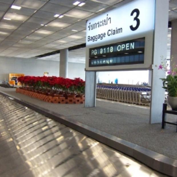 Winnaarsgevoel door koffer als eerst op de bagageband!