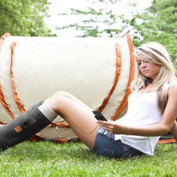Orange Power Wellies: ideaal voor Lowlands!!