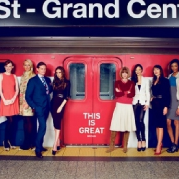 Victoria Beckham in campagne 'Great' van Visit Britain