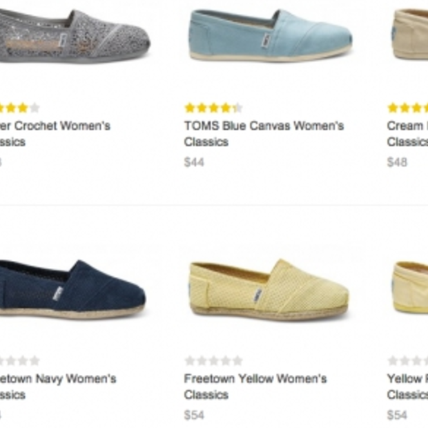 Hate it or love it: Toms schoenen