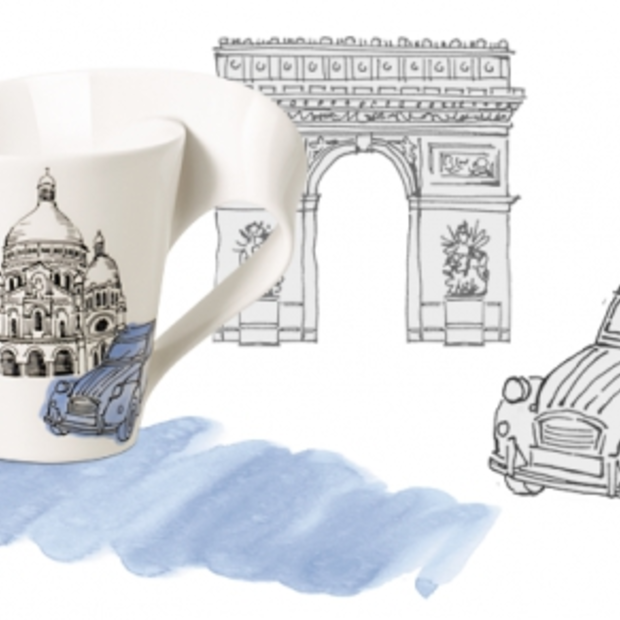 Villeroy & Boch komt met NewWave Caffè Cities of Europe servies