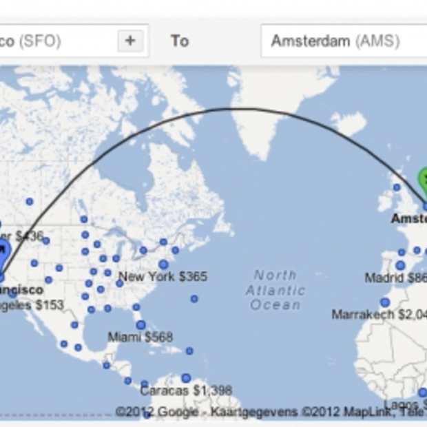 Internationale uitbreiding voor Google Flight Search