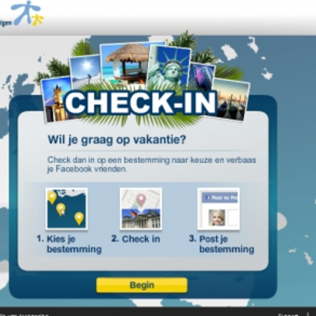Inchecken op Facebook in diverse wereldsteden met Expedia Check In