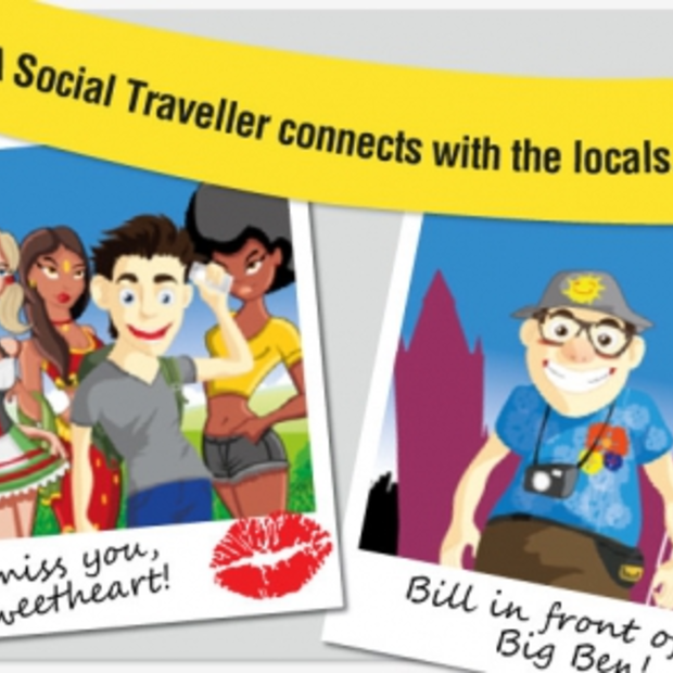 Social Travel versus Normal Travel [Infographic]