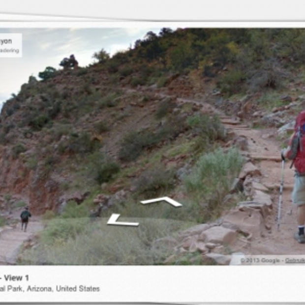 Grand Canyon nu in Google Maps; schitterende beelden