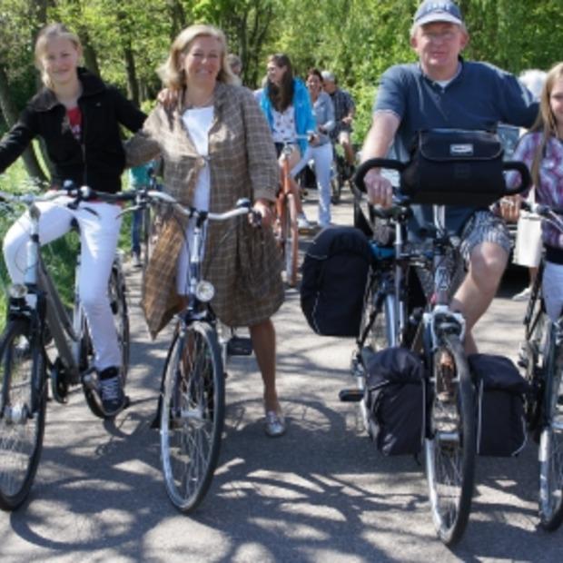 Hans Hendriks fietst in 60 dagen langs 60 hotels in de Benelux!
