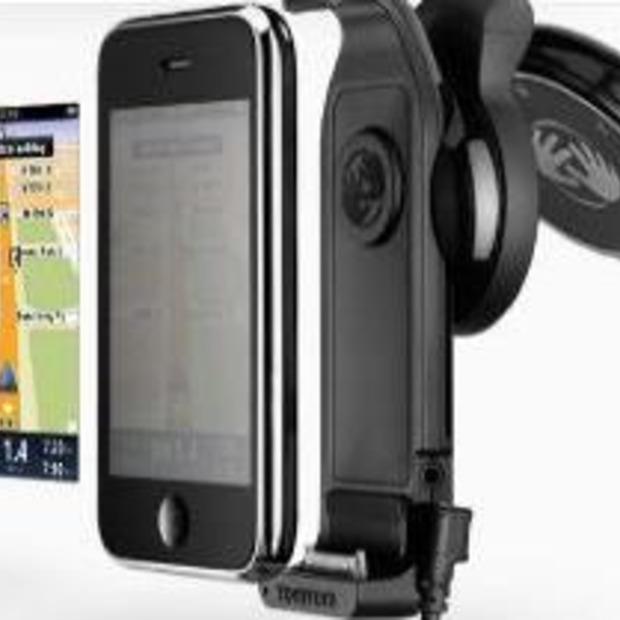 TomTom carkit voor iPhone