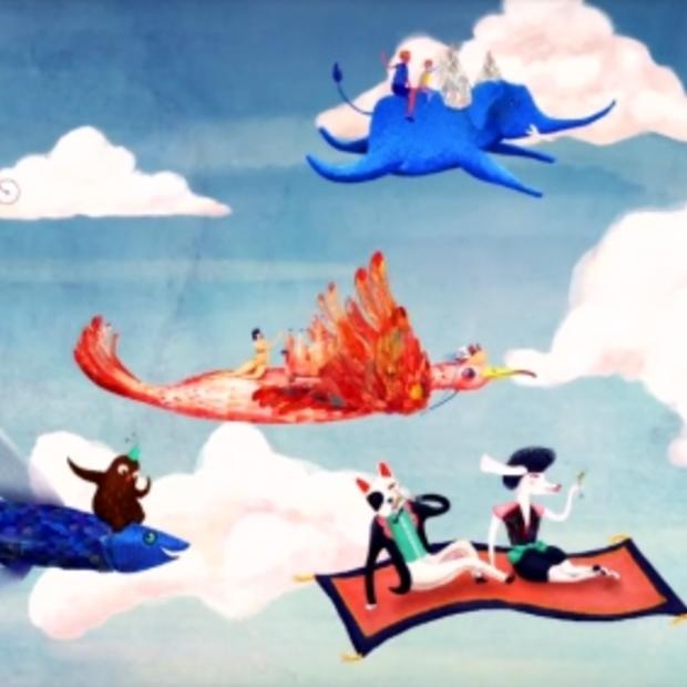 Travelbird lanceert nieuwe kleurrijke, fabelachtige reclamespot