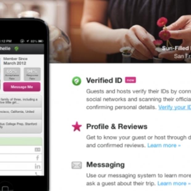 Airbnb laat vertrouwen en transparantie groeien door 'verified identification'