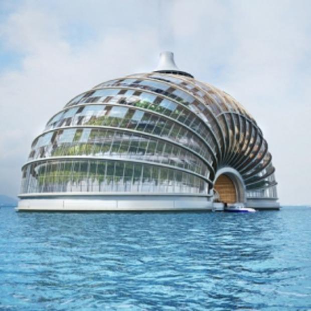 Het drijvende Ark Hotel