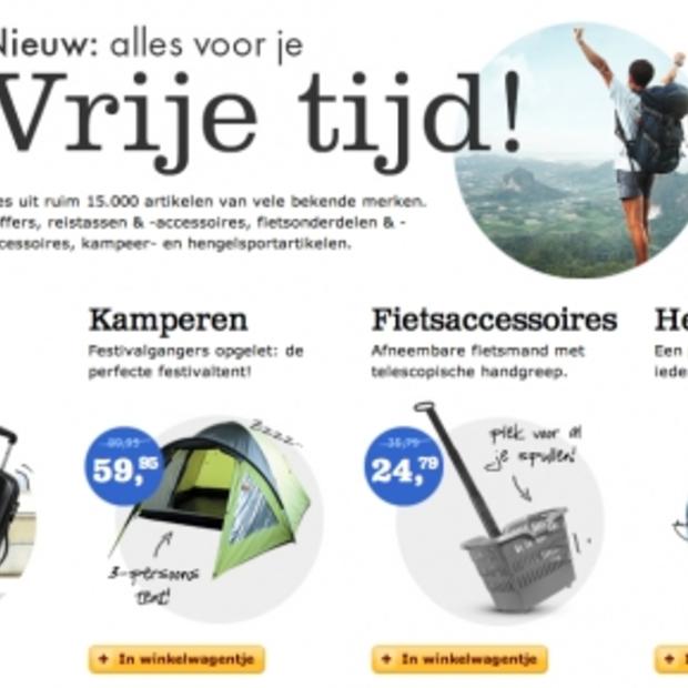 Alles op gebied van kamperen, reizen en hengelen nu ook te koop bij Bol.com