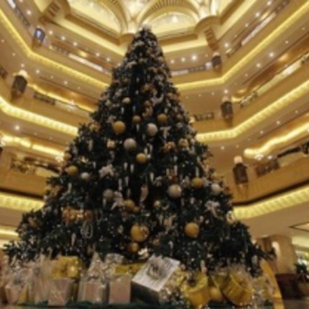 Een kerstboom van 11 miljoen dollar! Ho ho ho....
