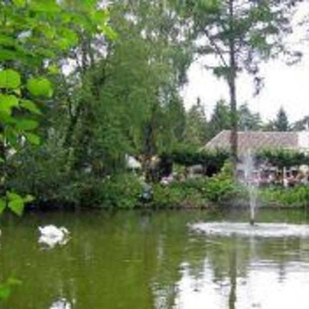 Boshuys Hermitage in Oisterwijk: beste terras 2010