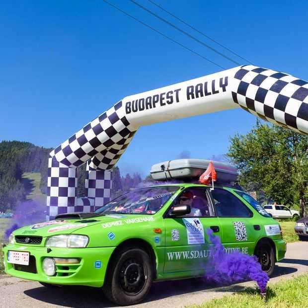 Rij deze zomer mee in de Budapest Rally en win een gele Trabant