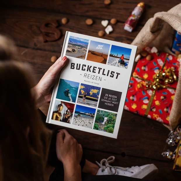 Cadeautip voor de Sint: geef reisboek Bucketlist Reizen!