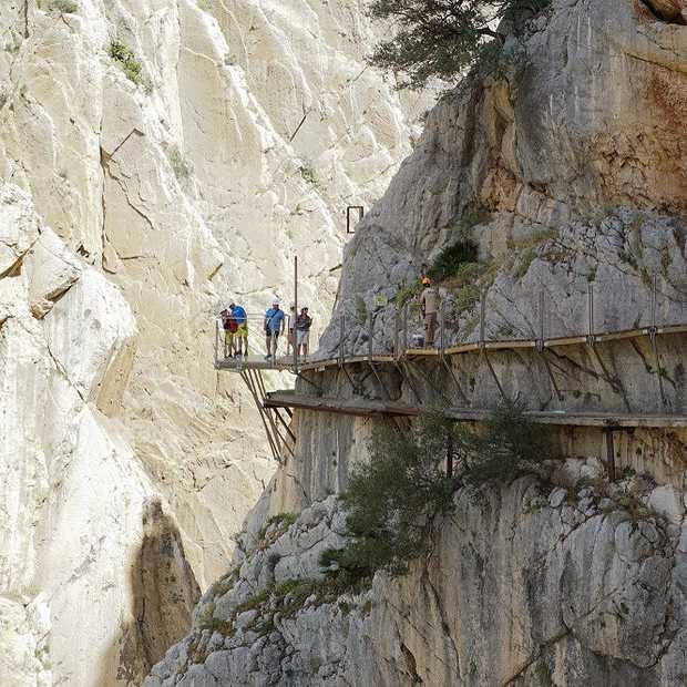 El Caminito del Rey: de gevaarlijkste wandelroute ter wereld