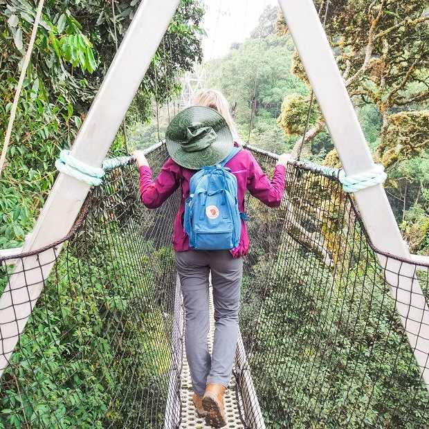 Ontdek het regenwoud in Rwanda vanaf 70 meter hoogte