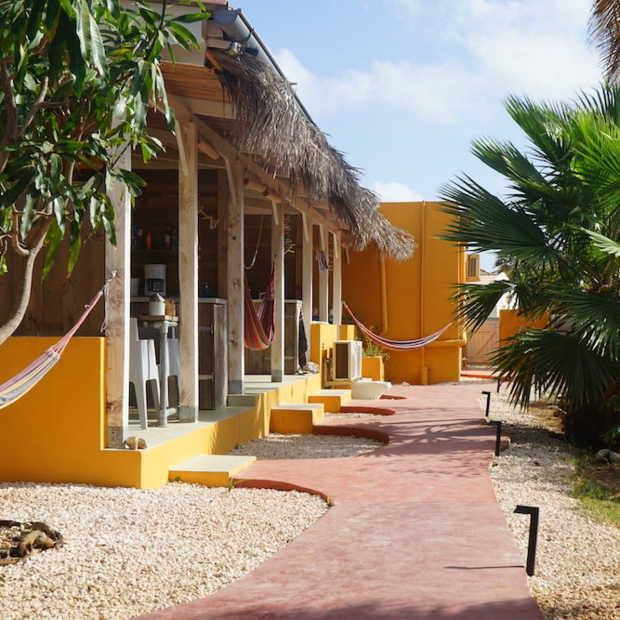 Dit is het meest kleurrijke plekje om te slapen op Bonaire