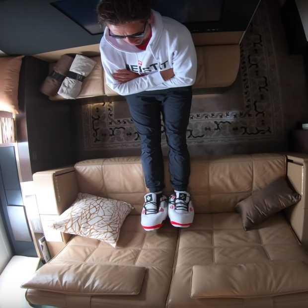 Zo ziet je vlucht eruit als je het duurste vliegticket ter wereld boekt
