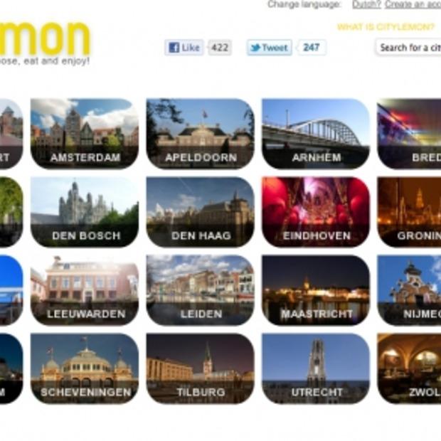 iPhone app voor Online Restaurantgids CityLemon