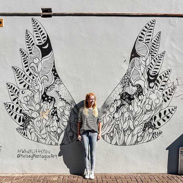 Toffe graffiti: deze engelenvleugels vind je over de hele wereld!