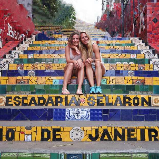 Escadaria Selarón: de vrolijkste trap ter wereld