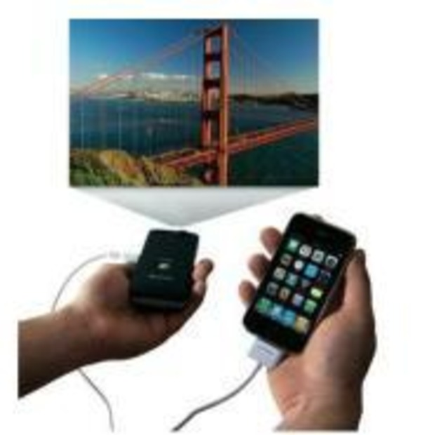 Een beamer in zakformaat