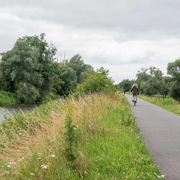Op de fiets door het Belgische Scheldeland