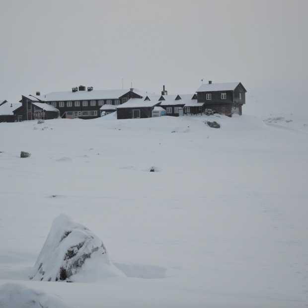 Een indrukwekkend maanlandschap: Finse 1222 in Noorwegen
