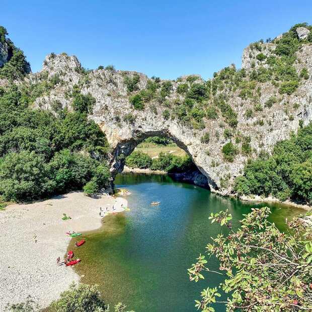 Gorges de l'Ardèche: een spectaculaire mini-roadtrip in Frankrijk