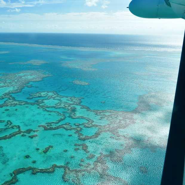 Great Barrier Reef van bovenaf: zet deze rondvlucht op je bucketlist!