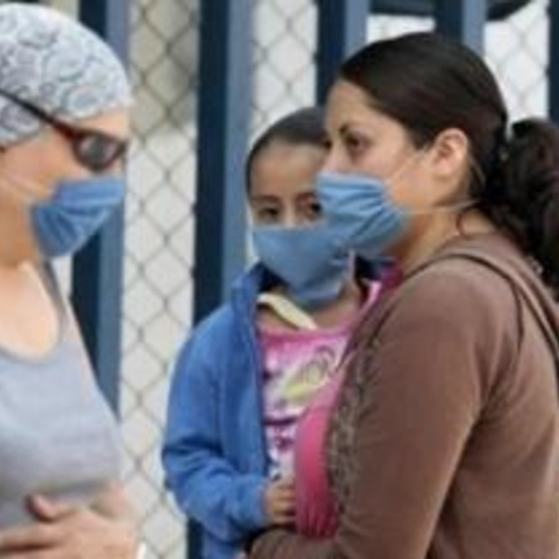Reiswereld plat door Mexicaans griepvirus